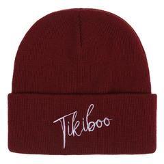 Tikiboo Maroon Signature Beanie £12.99 #Activewear #Gymwear #FitnessLeggings #Leggings #Tikiboo #Running #Yoga