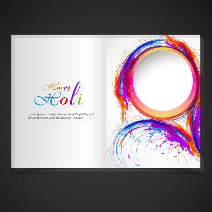 Beautiful Holi Festival Brochure - FREE