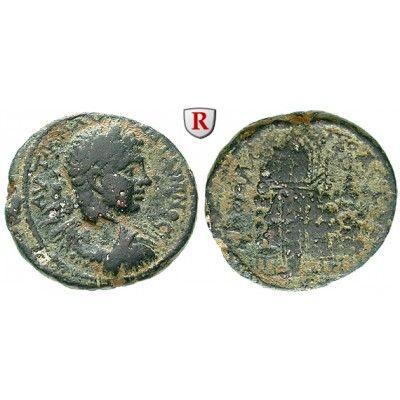Römische Provinzialprägungen, Judaea, Neapolis, Elagabal, Bronze, s-ss: Judaea, Neapolis. Bronze 23 mm. Kopf r. mit Lorbeerkranz;… #coins