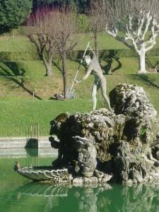 Boboli Gardens, Florence, Italy #gardens