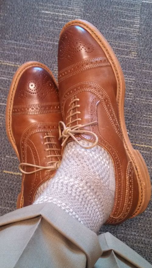 Disclaimer I am in no way affiliated with Allen Edmonds. I did a search here and nothing came...