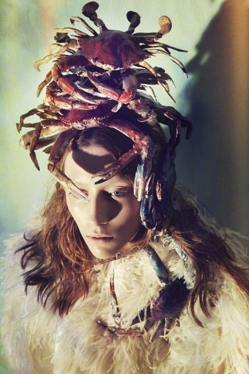 .Area Zimmer, Fashion, Editorial, Sofia Sanchez, Spring Summer, Octopuses Gardens, Garages Magazines, Photography, Mauro Mongiello