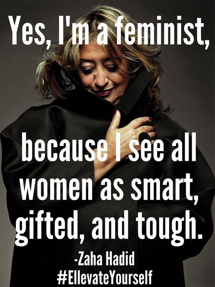 I like her perspective.  Wisdom in maturity and respect of all women.
