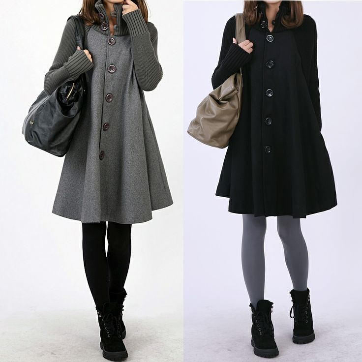 Winter Coats Sales Woman