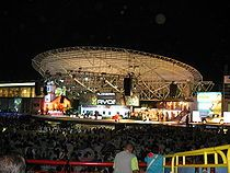 Festival Vallenato 2007.  Tarima Compai Chipuco  Valledupar,  Cesar