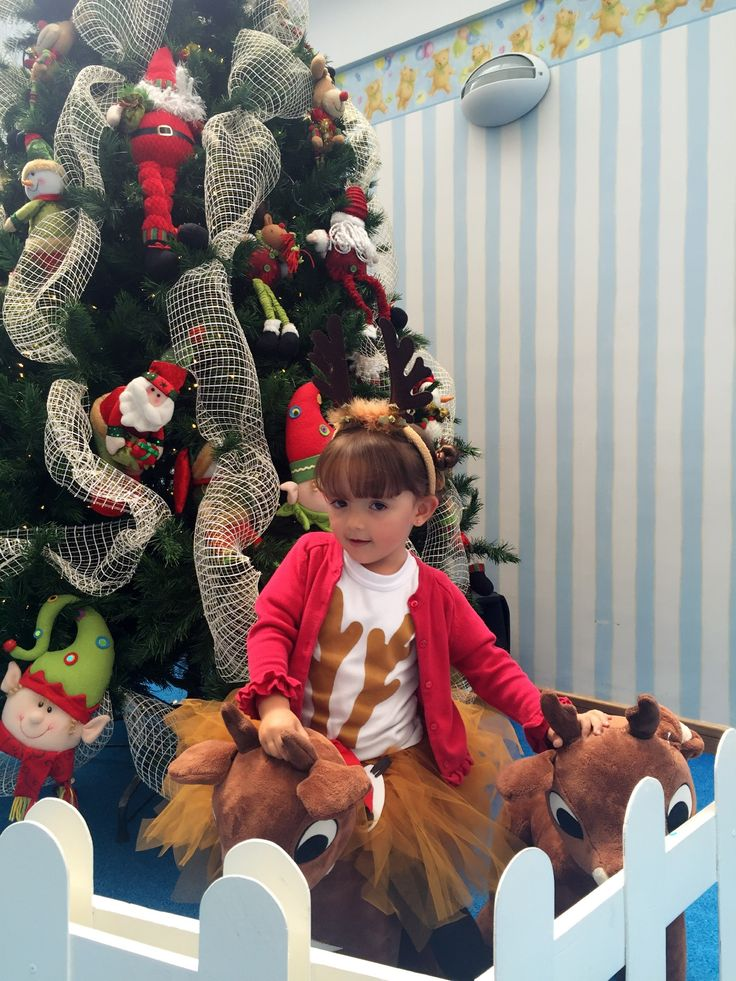 Tutu reno dress - fashion girl - christmas 2016 - the most beautiful reindeer in the world