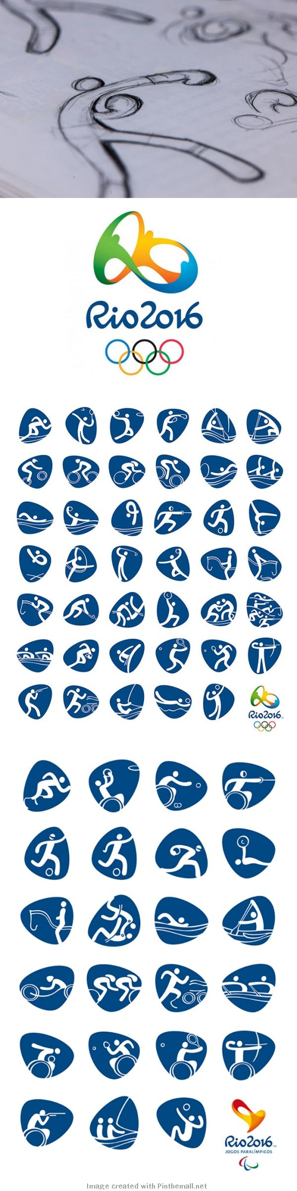 Rio 2016 in-house team – Olympic Pictograms for Rio 2016
