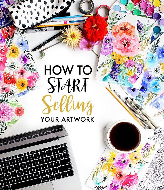 alisaburke: how to start selling your artwork