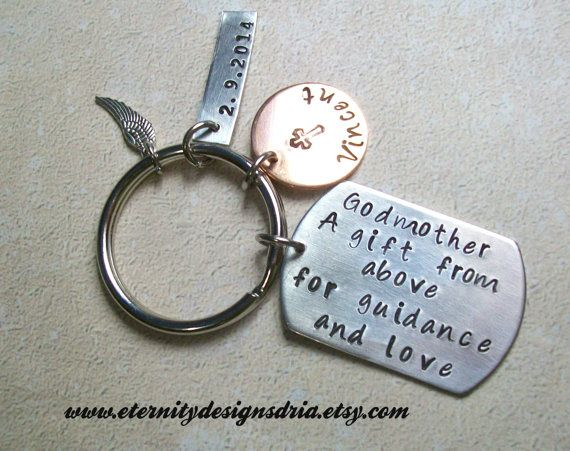 Godparent Keychain Gift For Godparents Gift For: Best 25+ Christening Gifts From Godparents Ideas On
