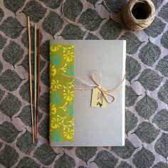 Notebook *greenlove* fatto a mano