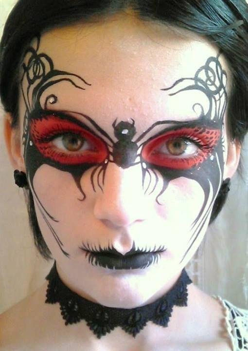 94 bästa bilderna om Sugar skull and creepy face painting på Pinterest