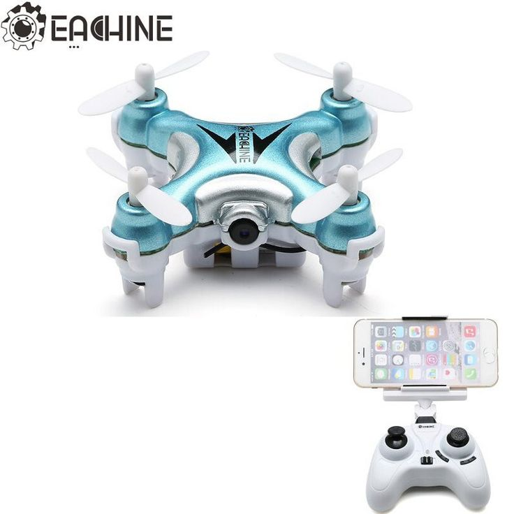 Eachine E10W Mini Wifi FPV With 720P Camera 2.4G 4CH 6 Axle LED RC Quadcopter RC Toys Mode2  #Drone #TheDroneHut #AerialPhotography #Travel #Quadcopters