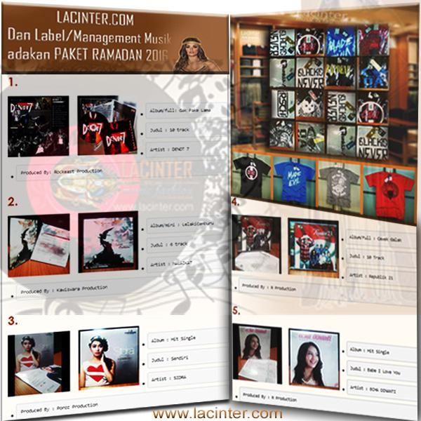 PAKET RAMADAN 2016  langsung membeli 2 pcs TShirt Bebas memilih , lgsg mendapatkan FREE 2 keping CD Original   1).  Ready Stock T-Shirt :       a). Size : M, L, XL       b). Bahan : Cotton Combed 20s/24s/30s                            Lembut , Nyaman dengan Jahitan Rantai Standart Distro       c). Brand Distro : Black ID, Oakley, RSCH, Vans, Evil, unkl347, Drop Dead,                                               Atticus, Crooz, Beholder, Badger       d). Warna : Hitam, Merah, Abu-Abu, Biru…