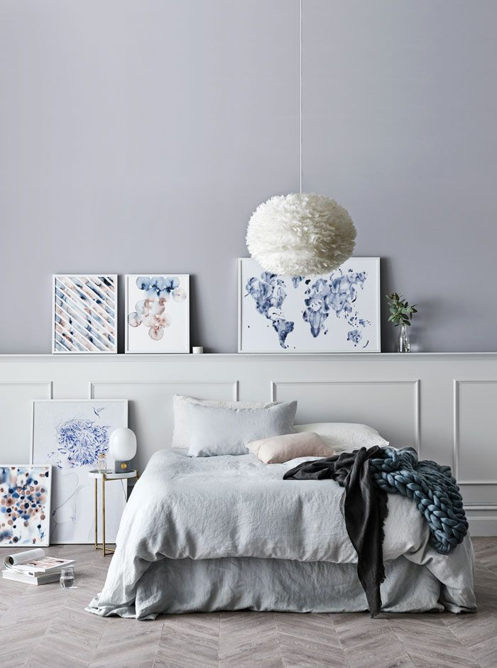 april 2016 norsu collection styling michelle halford the design chaser cultiver ed linen woollen collective vite eos feather pendant - Concrete Bedroom 2016