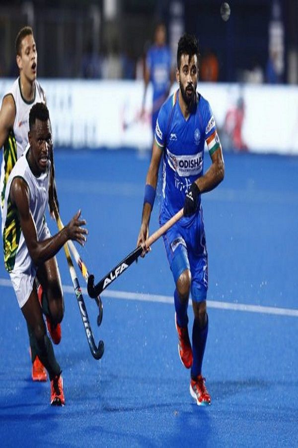 2023 Fih Men S Hockey World Cup A Great Opportunity To Complete Unfinished Business Manpreet Singh Hockey World Cup Hockey World Tokyo Olympics