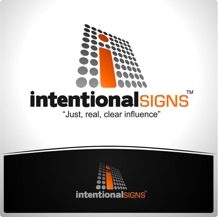 Intentional Signs - Logo  By: High Six Designs