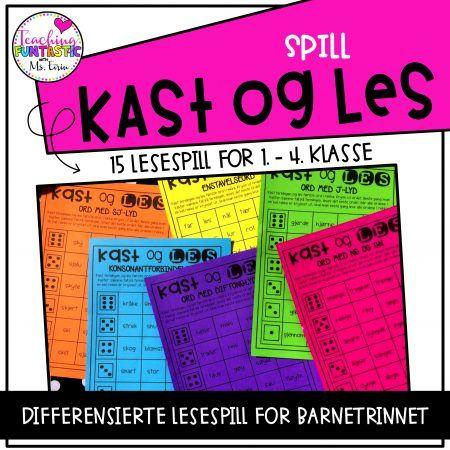 Kast & Les Spill — Teaching Funtastic