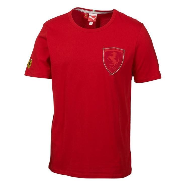 Mens Puma Tshirt Top Ferrari Tee II Logo : Puma £28.95