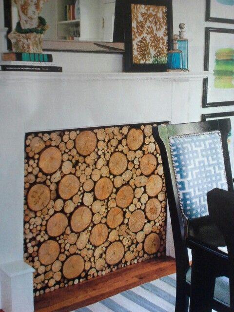 Best 25+ Fireplace filler ideas only on Pinterest | Faux mantle ...