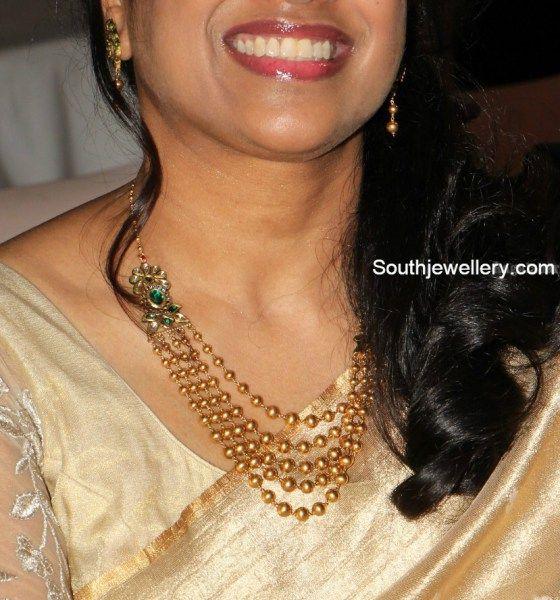 Elegant Gundla Mala - Jewellery Designs