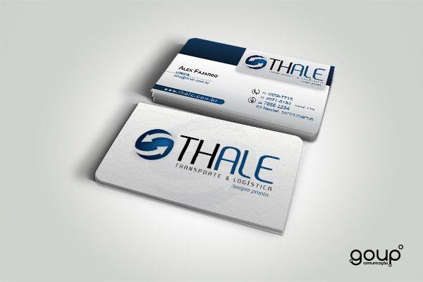Cartão de visita - Thale