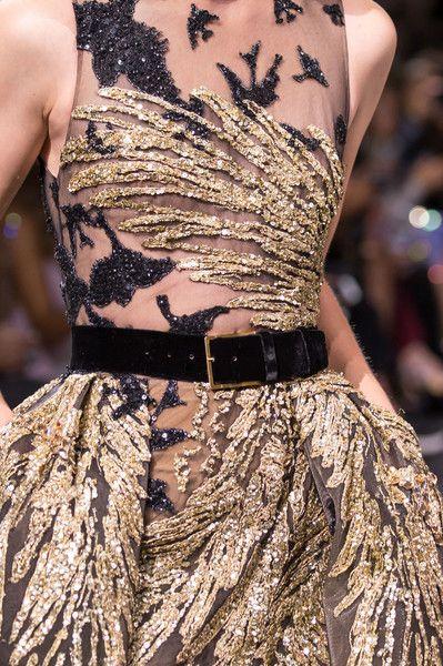 Rosamaria G Frangini | High Fashion Details | Elie Saab at Couture Fall 2016 - Details Runway Photos