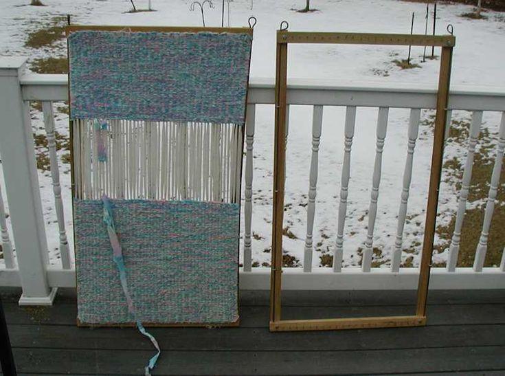 German Braid Weaving on Frame Loom | Lap Loom Pin Loom ...