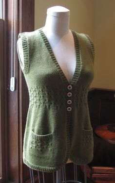 Circles Vest. This is a pay for pattern, but I love the vest.