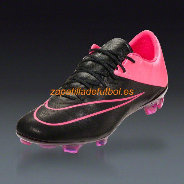 barato zapatilla de futbol nike mercurial vapor x fg hyper rosa negro tech craft