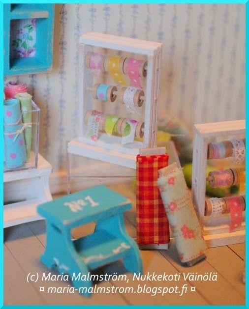 Dollhouse tutorial made by Maria Malmström