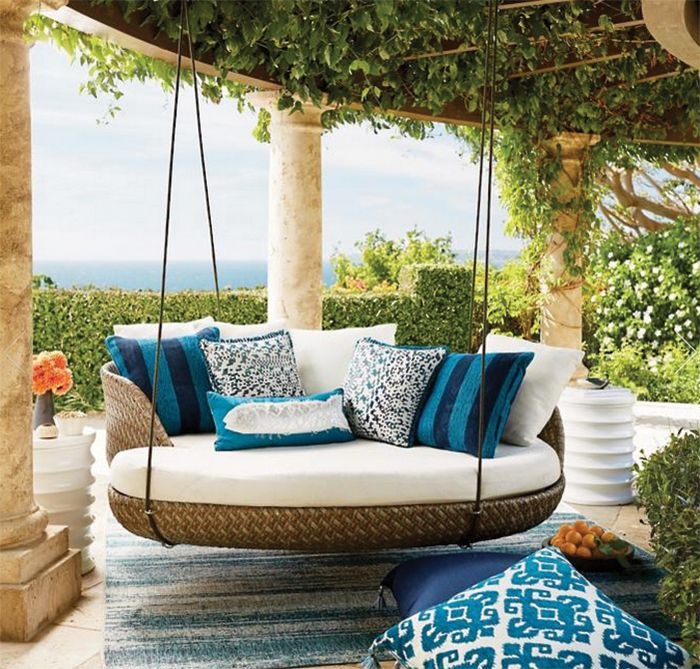 3 Porch Swings We Love With Images Hanging Daybed Balcony