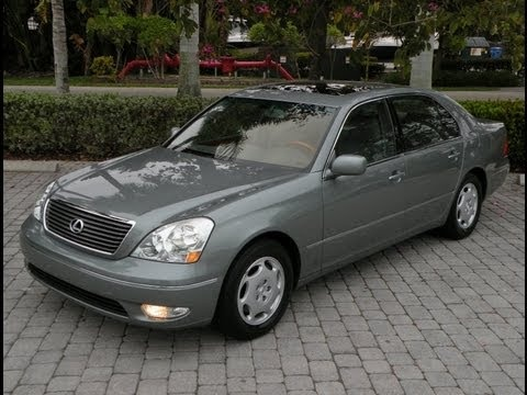 Auto Haus of Fort Myers is offering this Recently Serviced & Inspected, 1 Owner, 2001 Lexus LS430 with only 48k Miles for $15,900. It comes nicely equipped with a Mystic Sea Opal Exterior, Grey Leather Interior, Wood Interior Trim, 4.3L V-8, Automatic Transmission, Mark Levinson Premium Audio with 6-DISC CD Changer, Power Heated Seats, Heated Rear Seats, Power Sunroof, HomeLink Transmitter, On-Board Computer, Automatic Climate Control & More.  Call Auto Haus of Fort Myers at 239-337-HAUS…