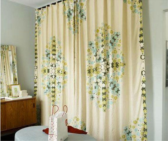 Ideas To Cover A Door do you have a door problem at your house you know the kind of Floor To Ceiling Curtains Part Of A Roundup Of Wall Covering Ideas For Renters