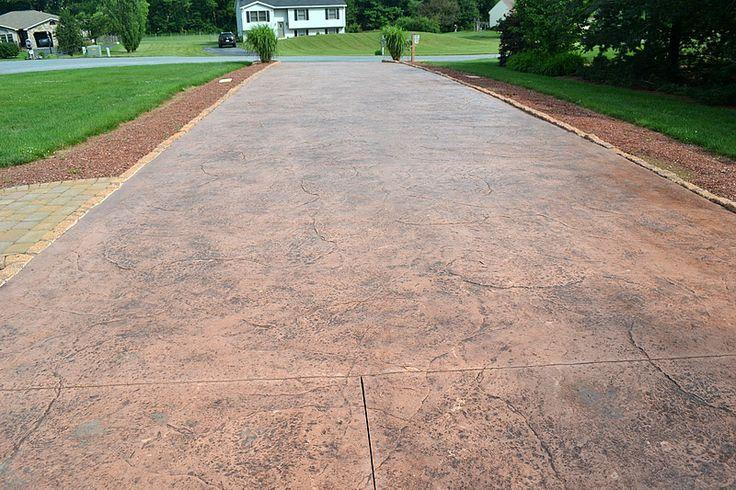 Epoxy Stone Driveway