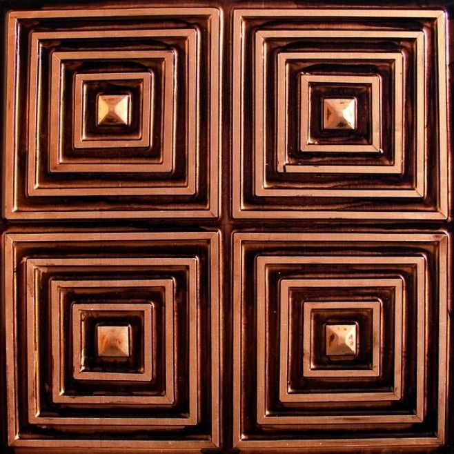 61 best Copper Ceilings & Ceiling Tiles images on ...