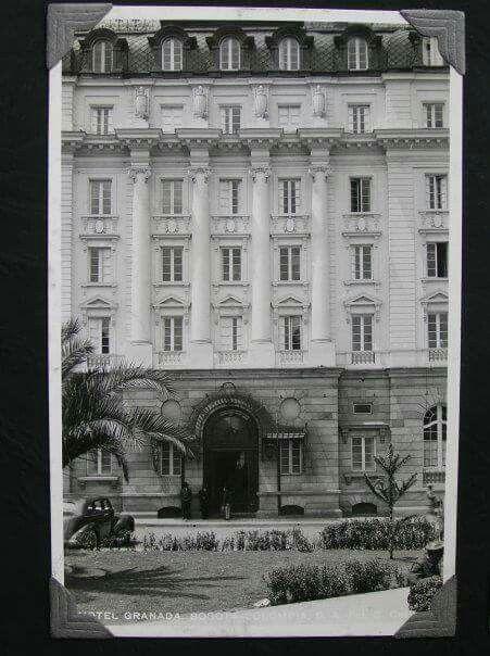 Fachada principal Hotel Granada