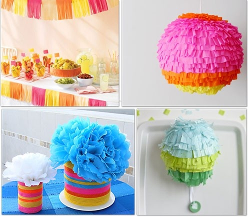 decorations for Fiesta!