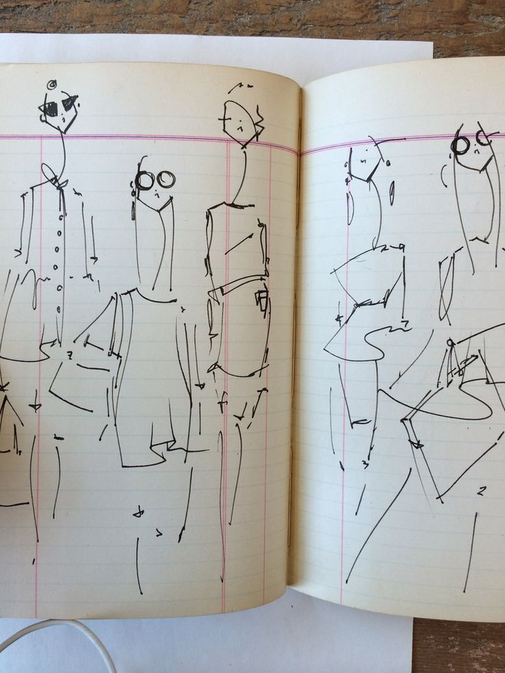 Girls Seen in New York   Markers and Microns
