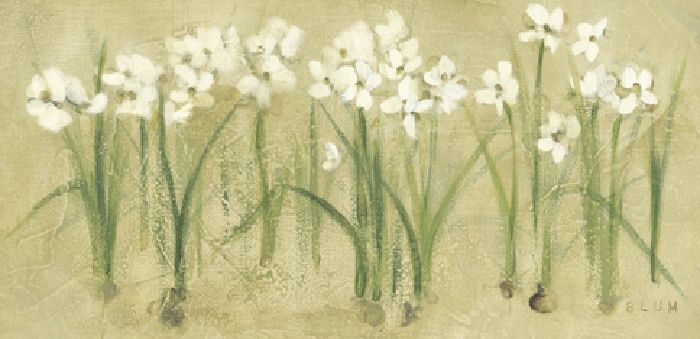 Cheri Blum Row of Narcissus