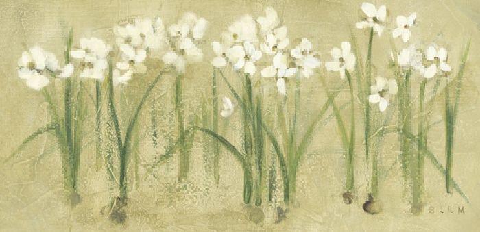Cheri Blum Row of Narcissus