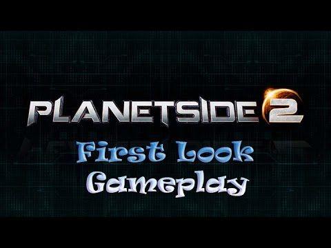 Planetside 2 Gameplay Firstlook