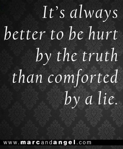 Truth quote via www.MarcandAngel.com