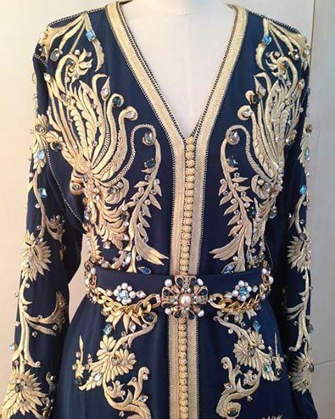 اللباس من تصميم @fouzianaciri  Tel : +212619207205