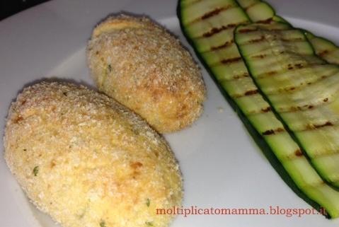 Crocchette di ricotta e patate lesse
