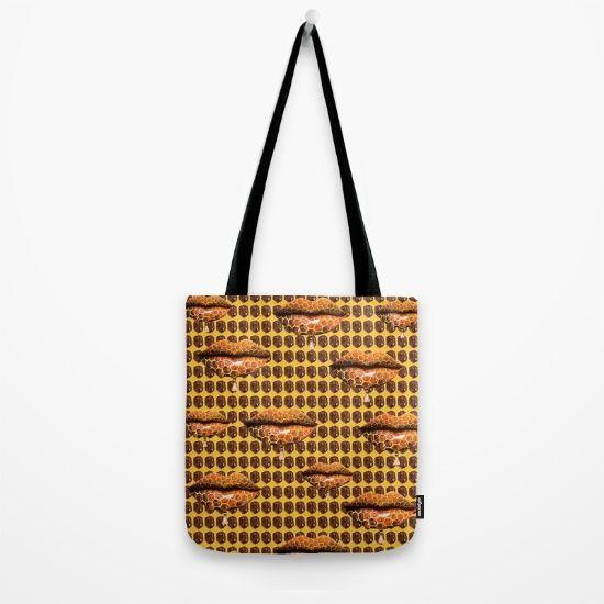 Sweet Lips Pop Art #3 Tote Bag