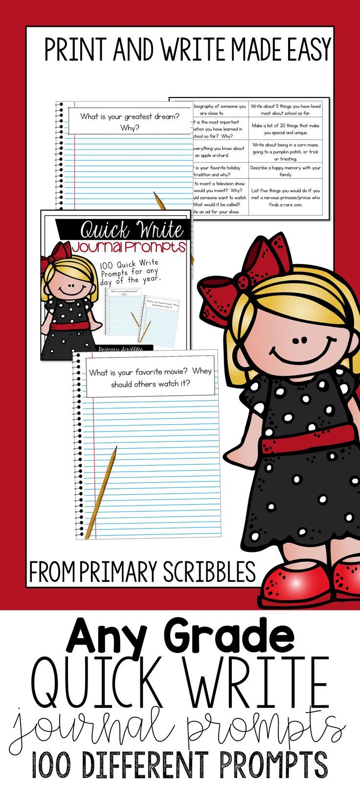 creative writing journal prompts 5th grade Creative writing journal topics lots of creative writing worksheets with prompts that spark students' imagination to see common core standards for these worksheets, click on the common core symbol.