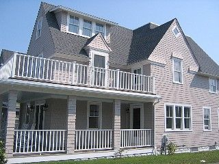 Big Beach House with Ocean Views - Steps to Beach - July & August availability! Vacation Rental in Oak Bluffs from @homeaway! #vacation #rental #travel #homeaway