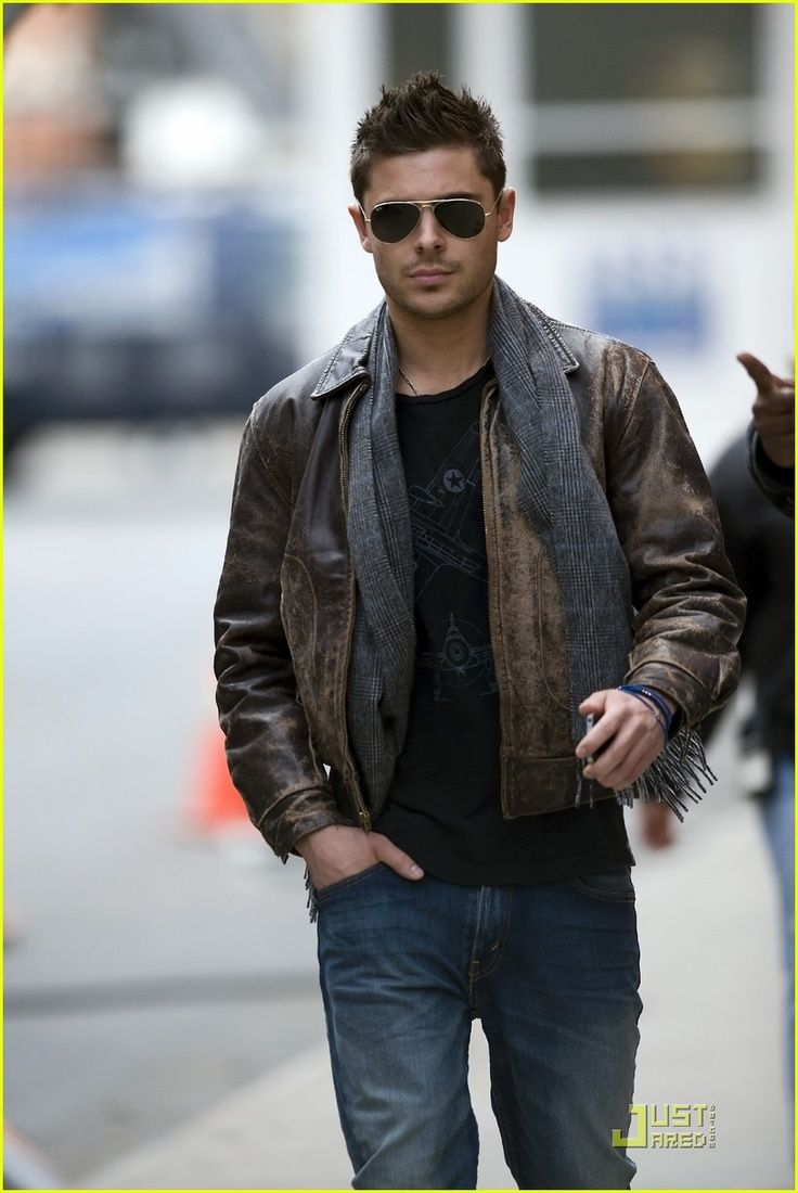 1000  images about Men Leather Jackets on Pinterest | The bourne