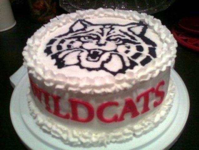 University Of Arizona Wildcat Fan Birthday Cake Cakes I