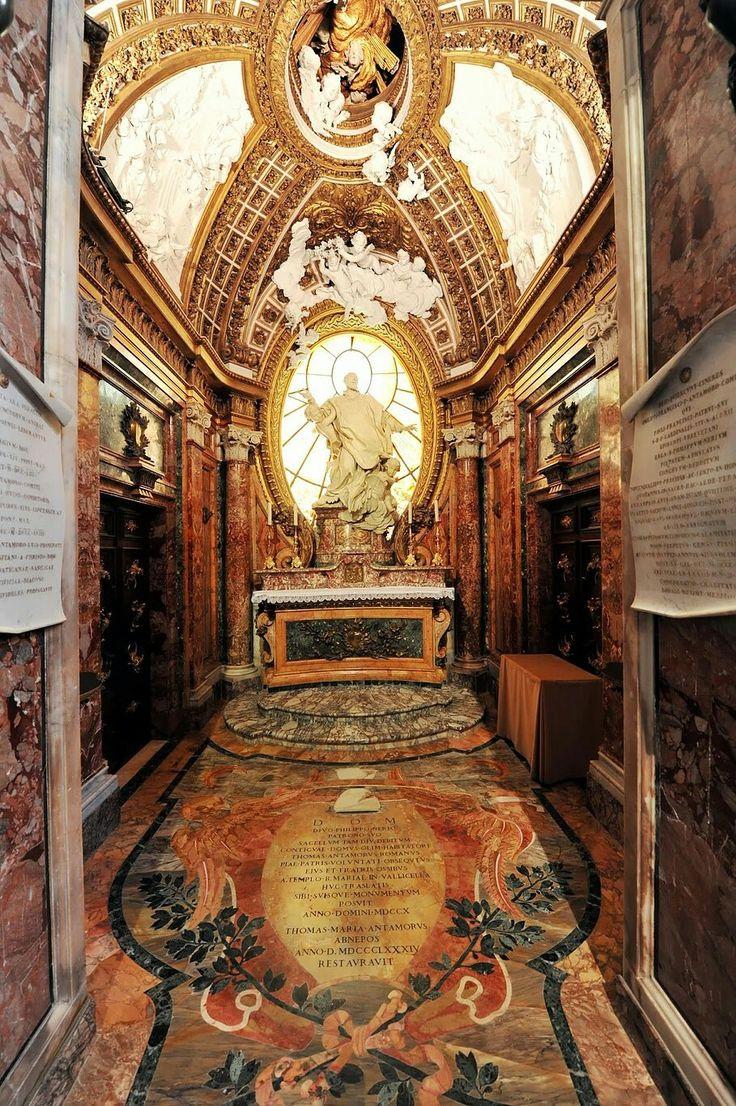 67 best quadraturismo illusionistic painting images on pinterest filippo juvarra chiesa di san girolamo della carit cappella antamori roma 1708 baroqueroma doublecrazyfo Gallery